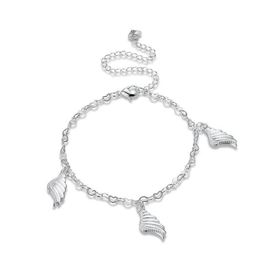Fashion Simple Angel Wings Anklet - Glamorousky