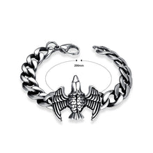 Load image into Gallery viewer, Fashion Ancient Mayan Eagle Titanium Steel Bracelet