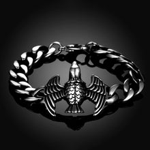 Load image into Gallery viewer, Fashion Ancient Mayan Eagle Titanium Steel Bracelet - Glamorousky