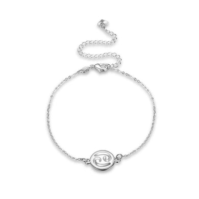 Fashion Simple Cancer Anklet - Glamorousky
