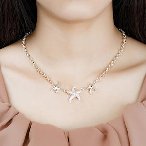Simple and Fashion Starfish Necklace