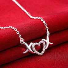 Load image into Gallery viewer, Simple Sweet Heart Cubic Zircon Necklace