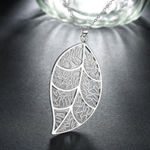 Load image into Gallery viewer, Fashion Hollow Leaf Pendant with Necklace - Glamorousky