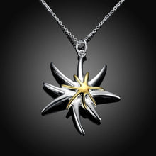 Load image into Gallery viewer, Simple and Fashion Starfish Pendant with Necklace - Glamorousky