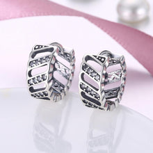 Load image into Gallery viewer, 925 Sterling Silver Fashion Personalized Geometric Cubic Zircon Earrings
