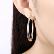 Load image into Gallery viewer, Simple and Fashion Geometric Round Earrings