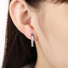 Load image into Gallery viewer, Fashion Simple Geometric Cubic Zircon Stud Earrings