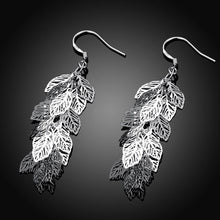 Load image into Gallery viewer, Fashion Romantic Hollow Leaf Earrings