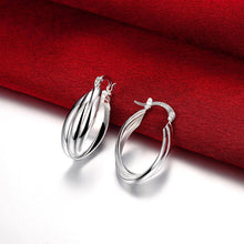 Load image into Gallery viewer, Fashion Simple Geometric Oval Earrings