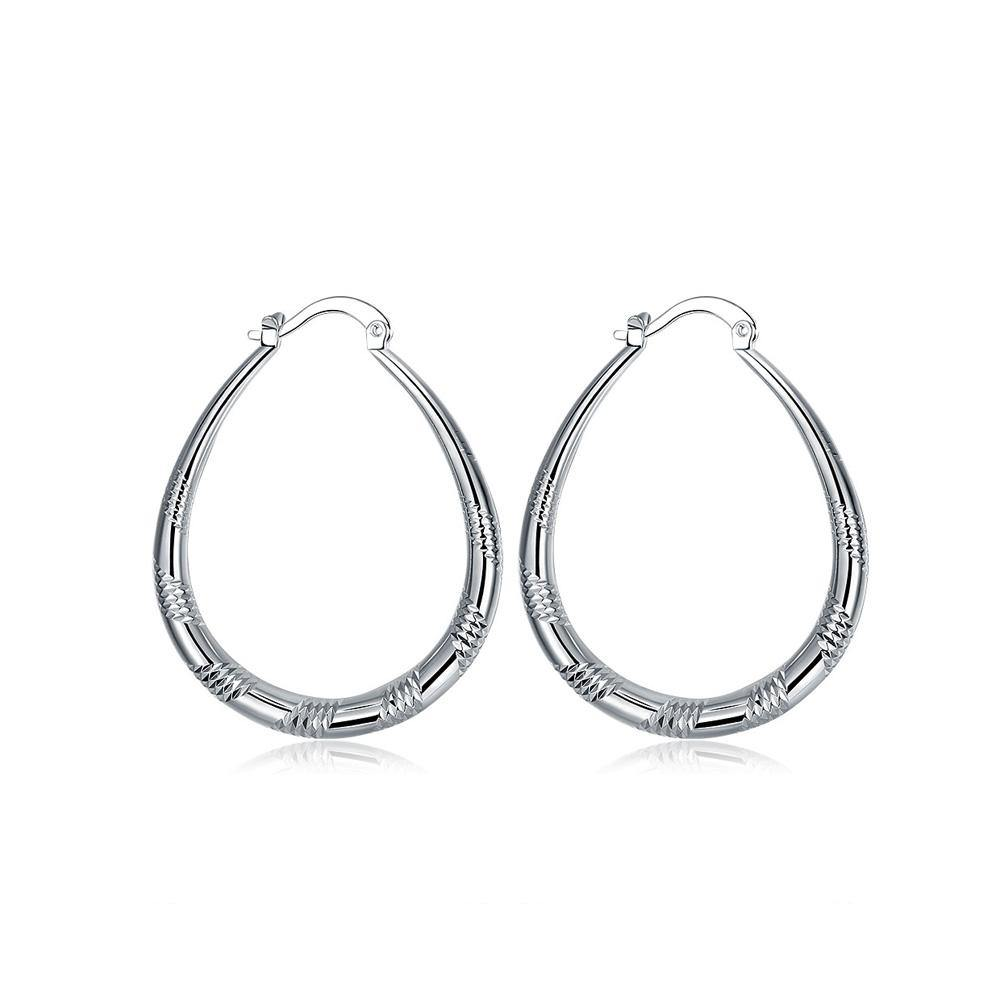 Simple and Fashion Geometric Round Earrings - Glamorousky