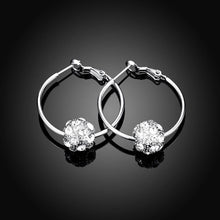 Load image into Gallery viewer, Fashion Elegant Geometric Round Cubic Zircon Earrings