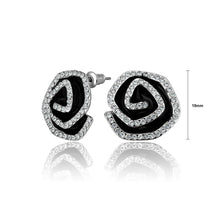 Load image into Gallery viewer, Fashion Bright Flower Cubic Zircon Stud Earrings - Glamorousky