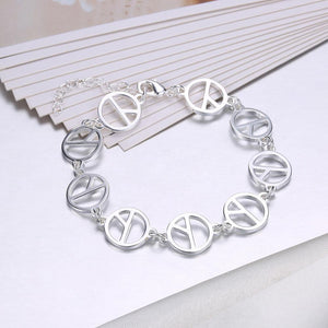 Fashion Simple Geometric Round Bracelet