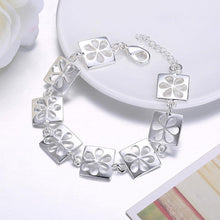 Load image into Gallery viewer, Fashion Simple Hollow Flower Square Bracelet