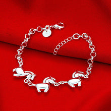 Load image into Gallery viewer, Fashion Simple Three Pony Bracelet
