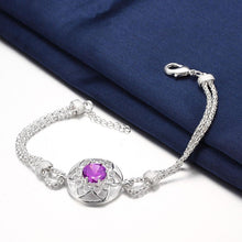 Load image into Gallery viewer, Fashion Hollow Hexagonal Star Cubic Zirconia Bracelet - Glamorousky