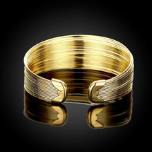 Load image into Gallery viewer, Fashion Exaggerated Plated Gold Plated Wide Edition Open Bangle