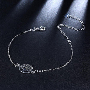 Simple and Fashion Tree Of Life Anklet