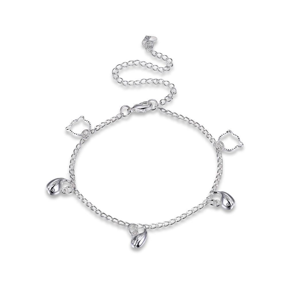 Fashion Cute Dolphin Bear Anklet