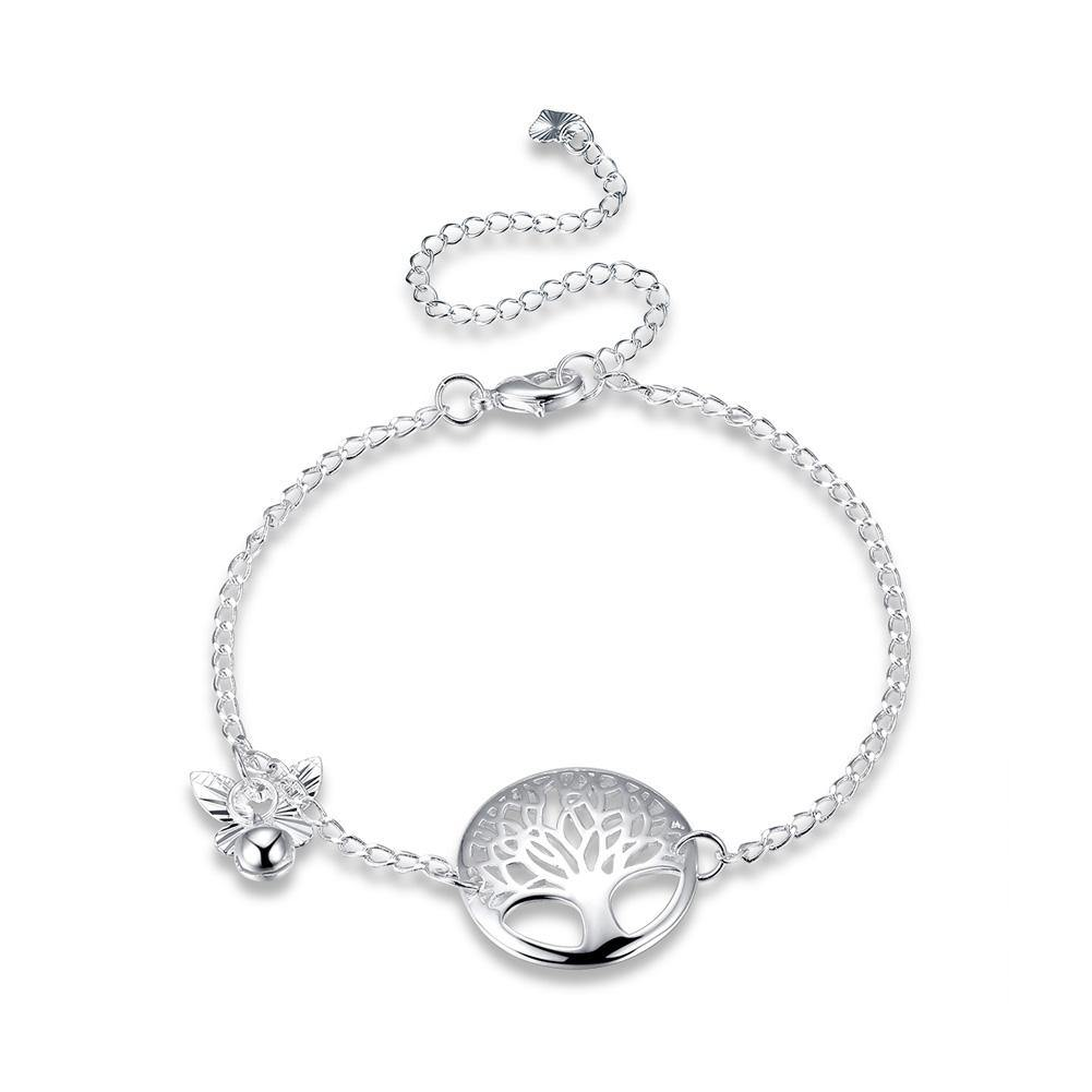 Fashion Elegant Tree Of Life Butterfly Anklet