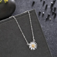 Load image into Gallery viewer, 925 Sterling Silver Fashion Elegant Chrysanthemum Pendant with Necklace