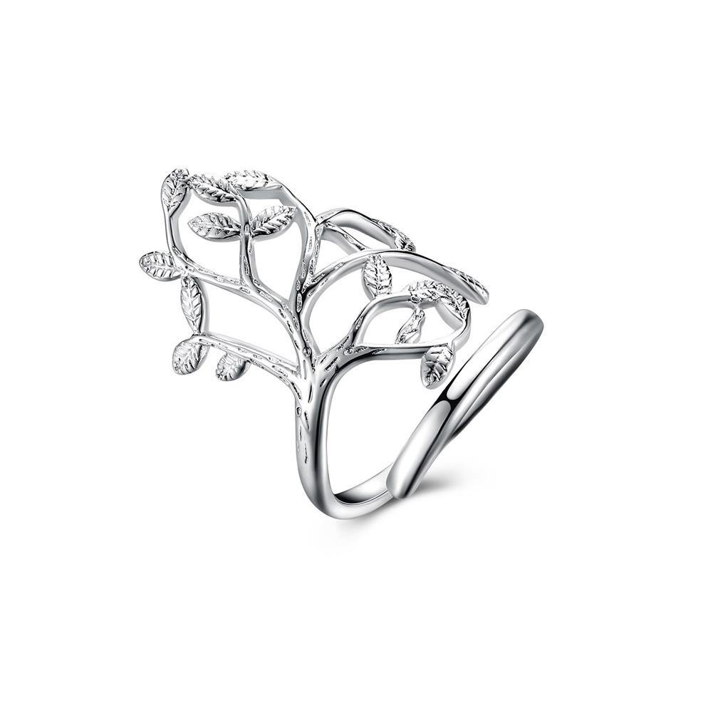 Fashion Personality Tree Adjustable Split Ring - Glamorousky