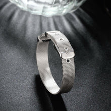 Load image into Gallery viewer, Simple and Fashion 10mm Mesh Strap Geometric Bracelet - Glamorousky