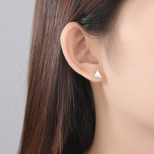 Load image into Gallery viewer, 925 Sterling Silver Simple Creative Mountain Stud Earrings