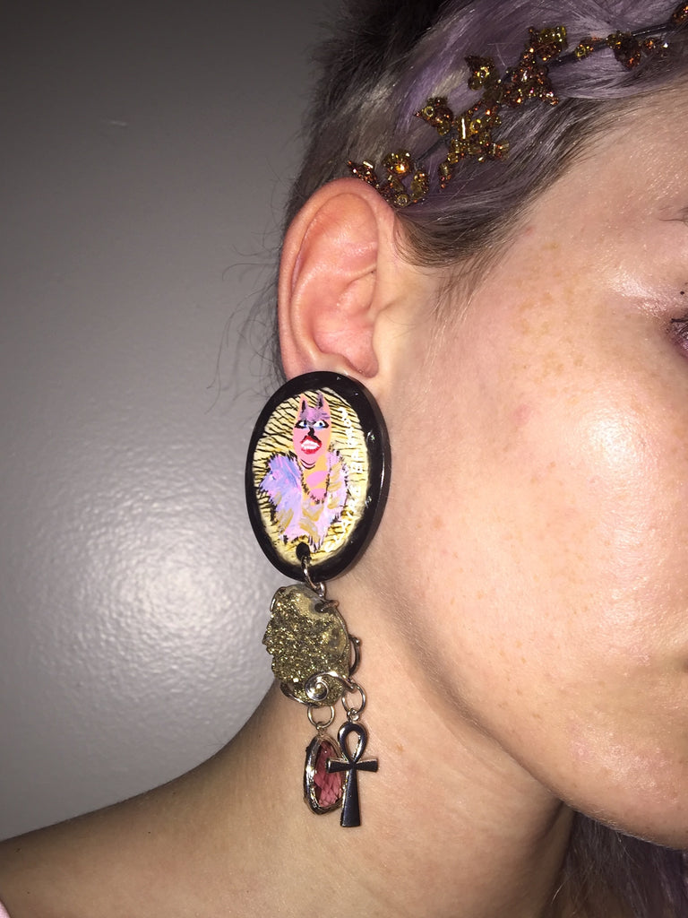 Claire Barrow H Lorenzo Earrings May 2016
