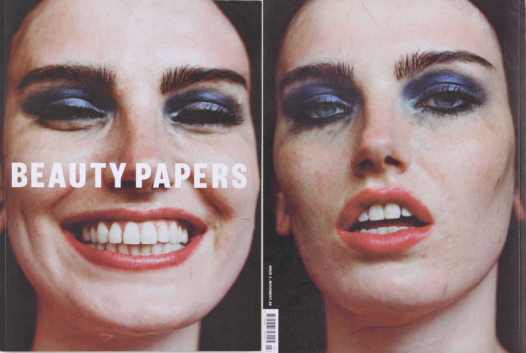 Beauty Papers, issue 2, Theo Adams company by Tom Johnson, Cover & pages 44-45
