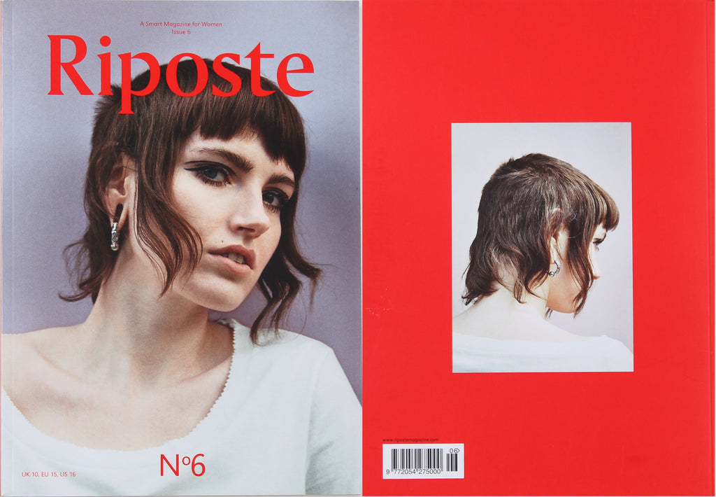 Riposte, issue 6, Cover & Pages 14-27