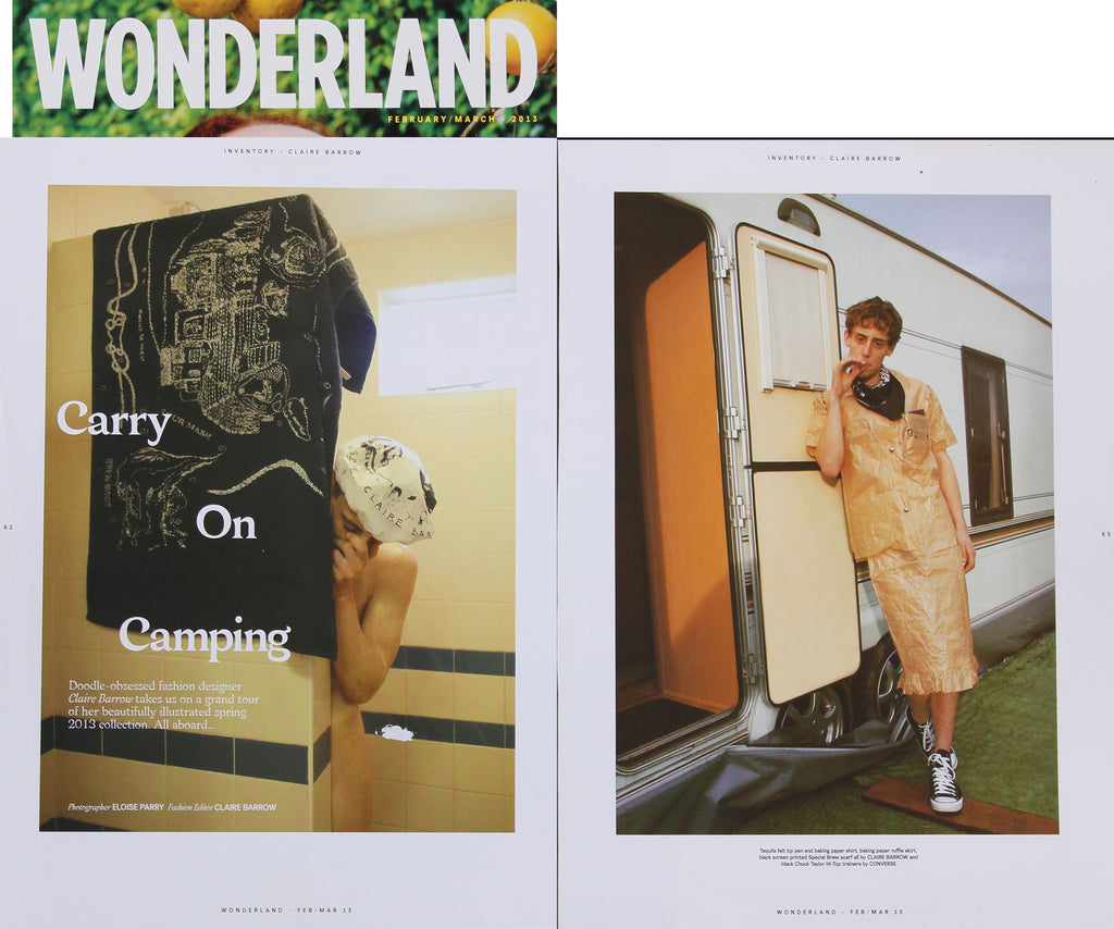 Wonderland, Feb March 2013, photographed by Eloise Parry, pages 62-65