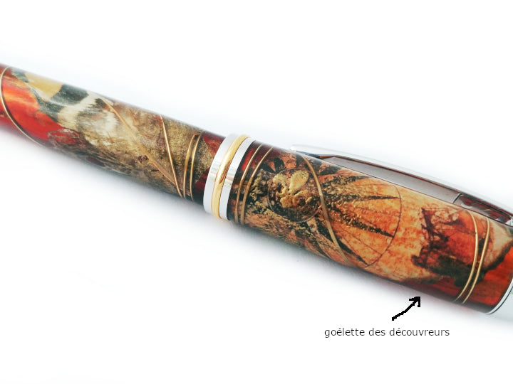 Stylo plume - Collection Nouvelle-France