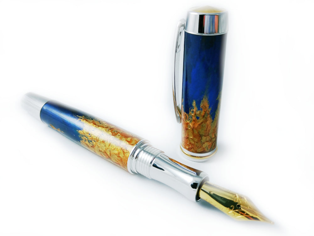 Stylo plume - Collection Feu - Miraky Design