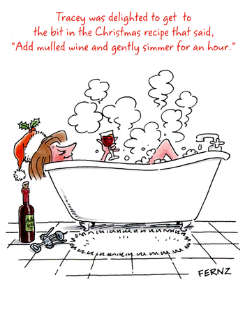 Humorous Christmas Cards.Humorous Christmas Cards By Fernz Comedy Card Company