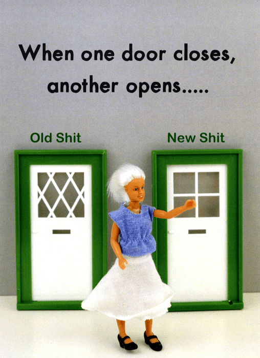 Funny Cards - When One Door Closes