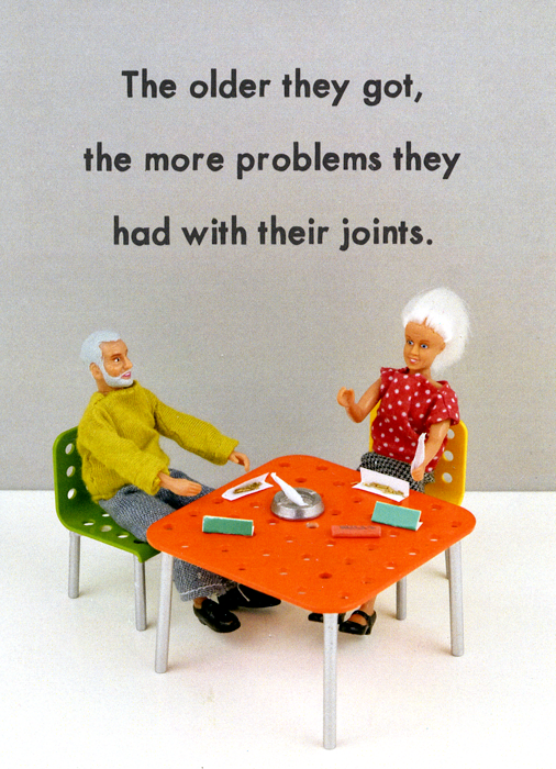 Getting older - more problems with their joints