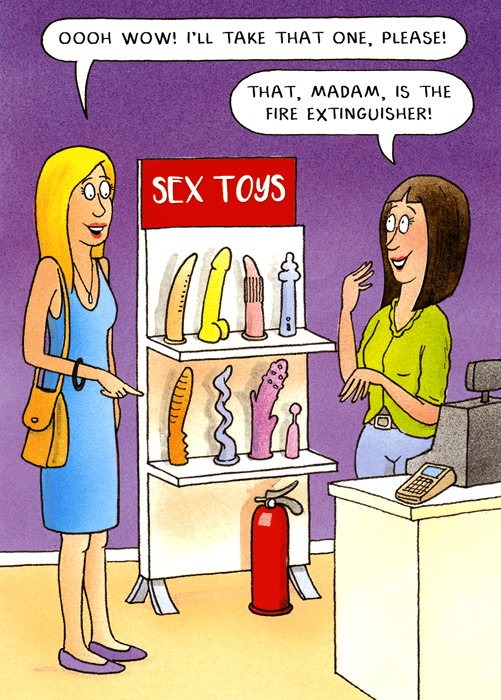 Birthday Card - Sex Toys - Take That One
