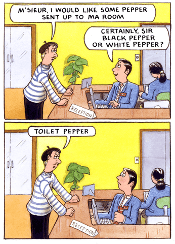 Would like some pepper