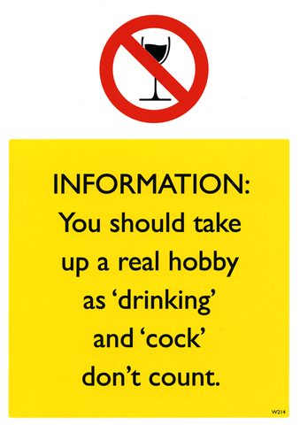Rude Cards - You Should Take Up A Real Hobby