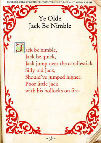 Funny Cards - Jack Be Nimble