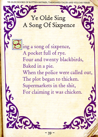 Funny Cards - Sing A Song Of Sixpence