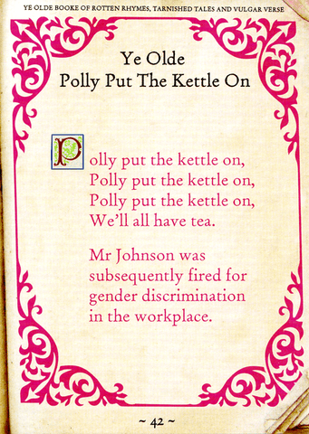 Funny Cards - Polly Put The Kettle On