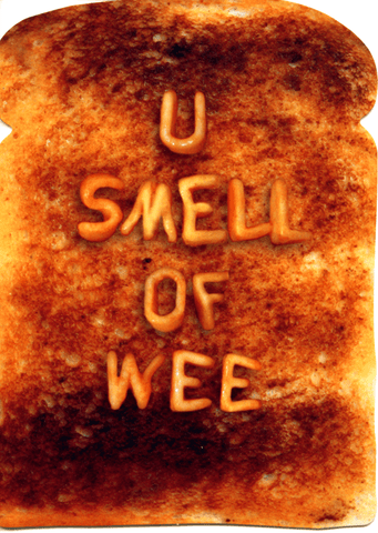 Funny Cards - U Smell Of Wee