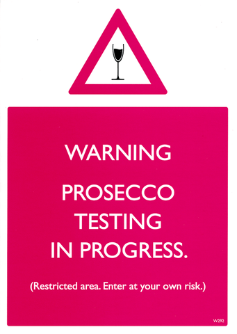 Prosecco testing in progress