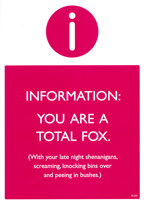 Funny Cards - You Are A Total Fox