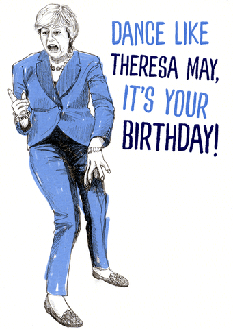 Dance like Theresa May