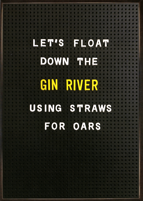 Funny Cards - Float Down The Gin River