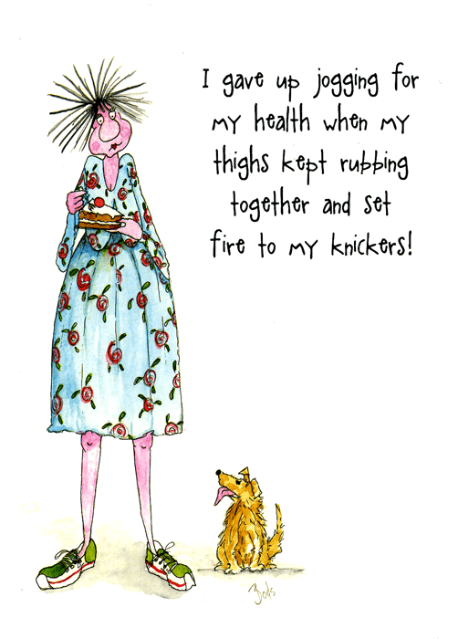 Funny Cards - Set Fire To My Knickers