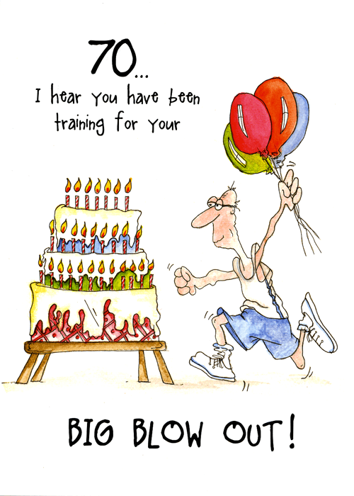 Products – 70 Birthday Cards